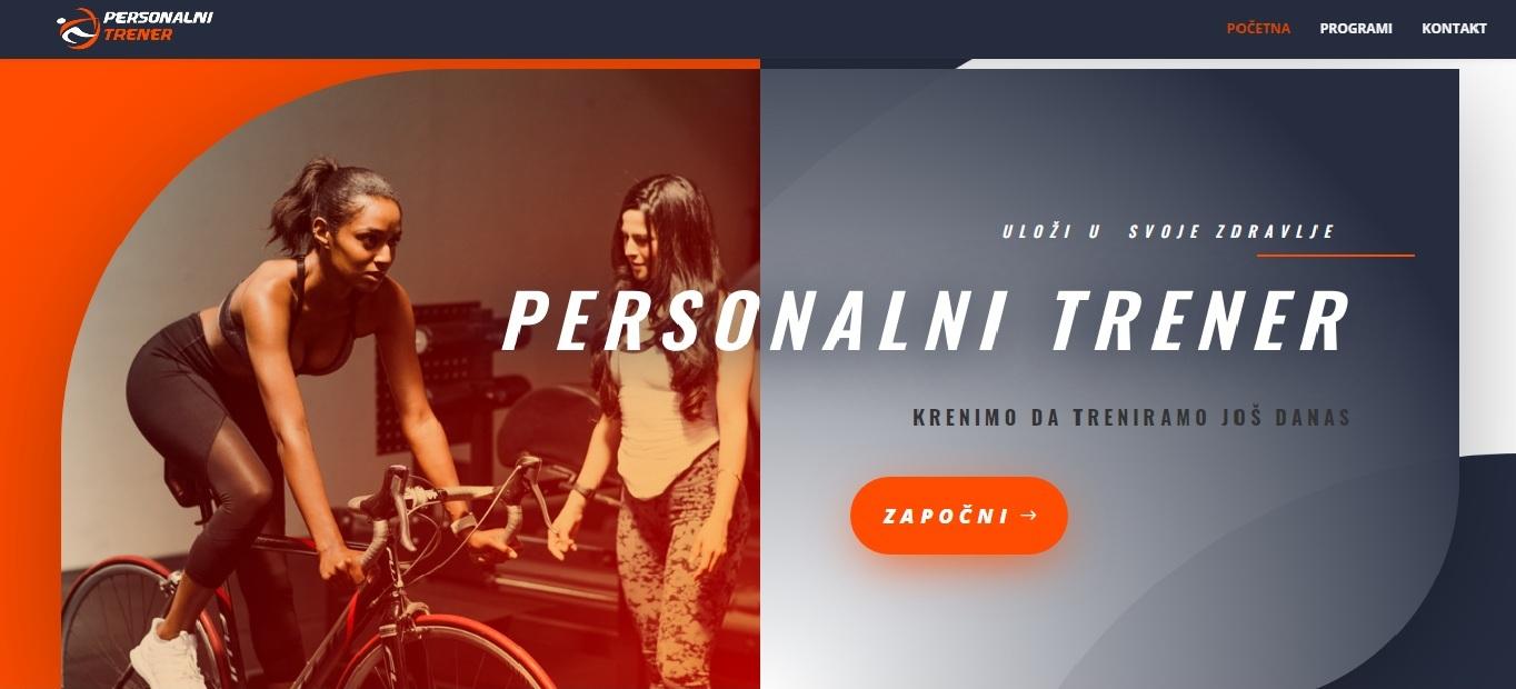 Licni trener sajt